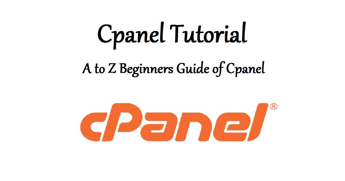 cpanel guide