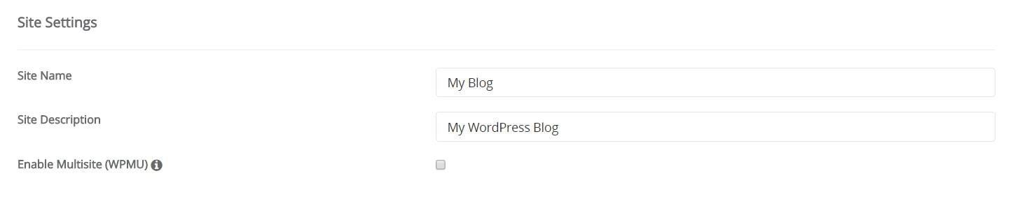 site-setting-wordpress-install