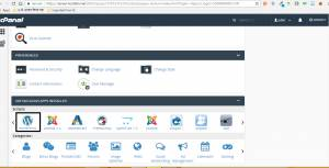 softaculous-wordpress in cpanel